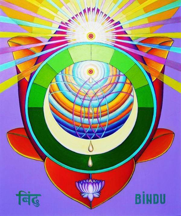 Bindu Chakra - Moon center
